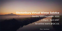 Glastonbury Virtual Winter Solstice @ Online