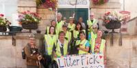 Litter Pick @ meet on Town Hall steps